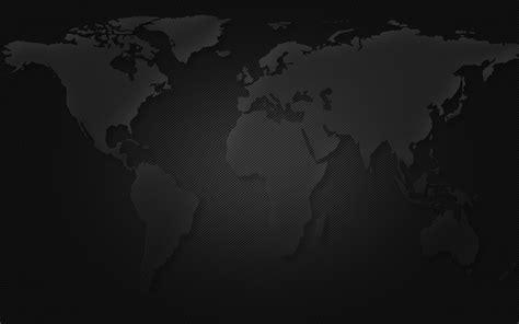 map world black maps world map black