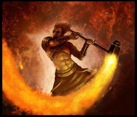 imagenes de hefesto dios del fuego imagenes de dios vulcano