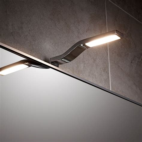 light over mirror in bathroom wave cob led over mirror light