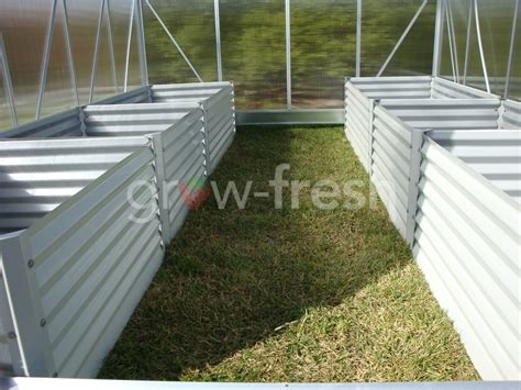 Greenhouse Planter Boxes by Greenhouse Instant Raised Garden Bed Planter Box Kit 37 Ebay