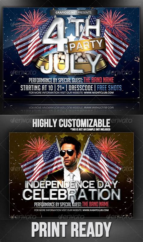 Fireworks Flyer Template