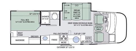 Las Vegas Floor Plans 2017 Thor Vegas 25 4 Camping World Of Las Vegas 1300309