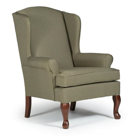 Wing Back Chair by Chairs Wing Back Doris Best Home Furnishings