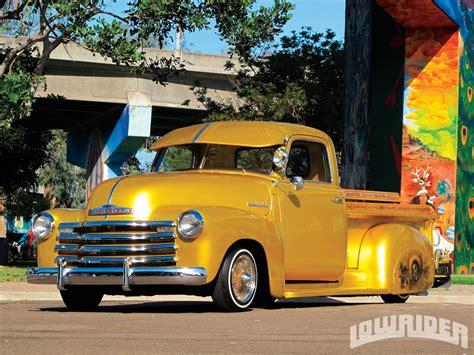 house chevrolet 1953 chevrolet 3100 truck el dorado de villa lowrider magazine