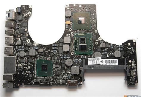 Ganti Logic Board Macbook Pro macbook pro unibody a1286 mc372ll a logic board repair service