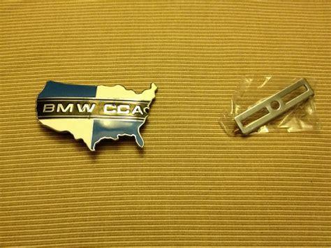bmw cca sticker fs new bmw cca map grill badge
