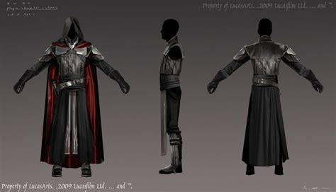 how to make sith robes starkiller black sith robes armor