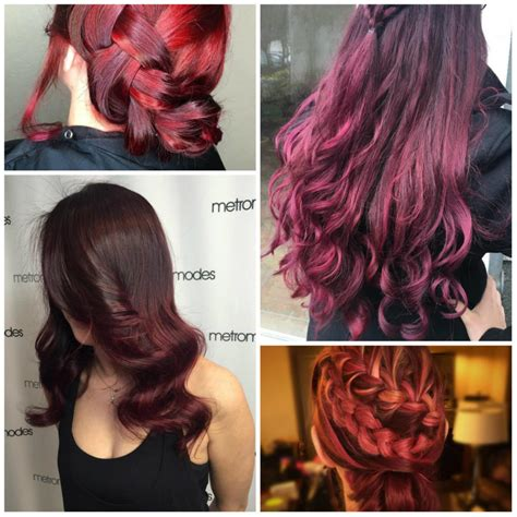 maroon color hair top 20 transformations with maroon hair color hairstyles