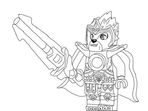 Easy Lava L tutorial legends of chima pin the chi on laval lego chima and lego