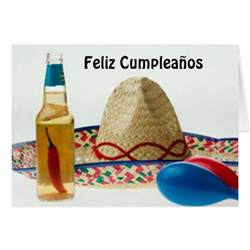 birthday cards in feliz cumpleanos feliz cumpleanos happy birthday card zazzle