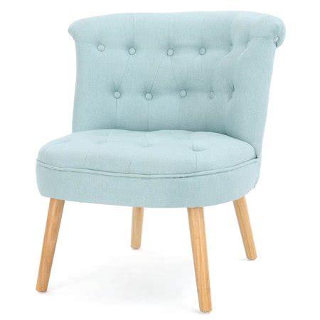 tufted accent chair  light blue walmartcom