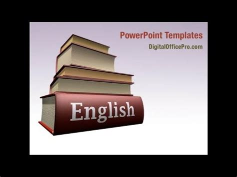 powerpoint themes english learning english powerpoint template backgrounds