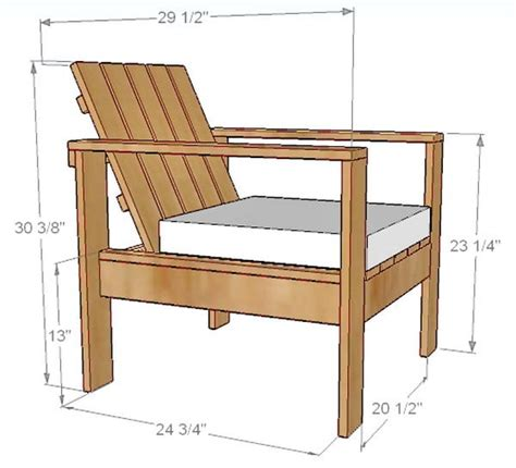 How To Make Outdoor Wood Chairs Quick Woodworking Projects How To Build A Patio Chair