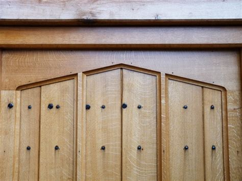 arts and crafts cabinet doors copy of an arts and crafts oak door cabinet making