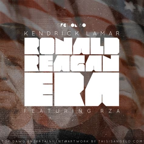 kendrick lamar section 80 album cover the ronald reagan era refers to the era when the hood