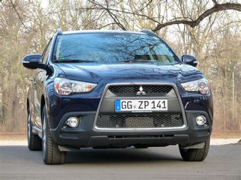 mitsubishi asx 4wd system test mitsubishi asx 1 8 did instyle 4wd cleartec