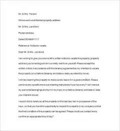 Quit Letter notice to quit template 10 free word excel pdf
