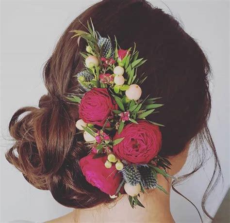 fiori per sposa acconciature sposa con fiori tra i capelli 11 idee per la
