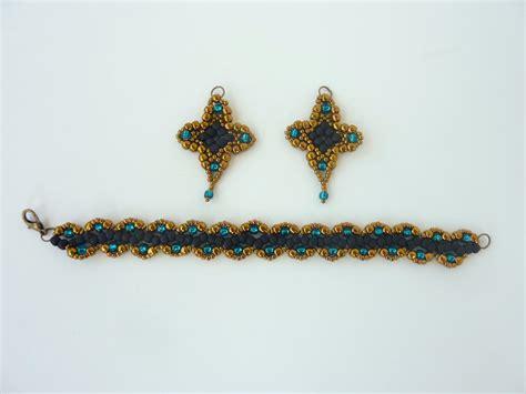 free beading pattern for earrings beaddiagrams