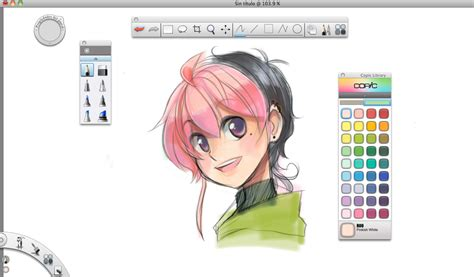 sketchbook copic aki can draw i just downloaded sketchbook copic edition