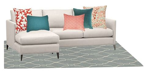 How To Place Pillows On A Sectional by Sofa Pillow Styling Basic Tips Centsational