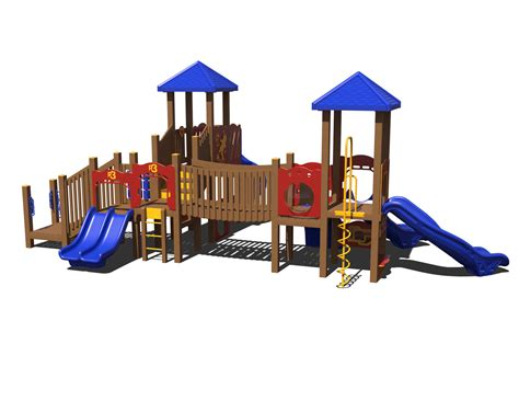 composite swing set ggr3 0010 composite playset affordable playgrounds by