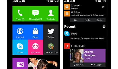 Android Like Windows Phone by Nokia S Android Phone Interface Sports A Windows Phone