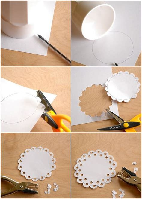 What To Make With Paper Doilies - diy craft how to make a doily cards paper