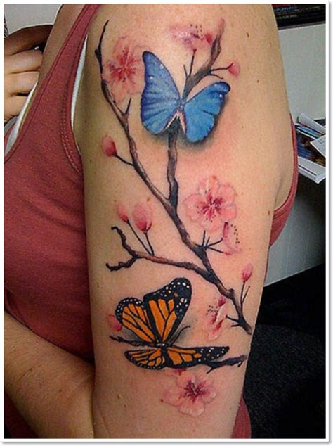 95 Gorgeous Butterfly Tattoos The Beauty And The Significance Butterfly Flower And Tattoos