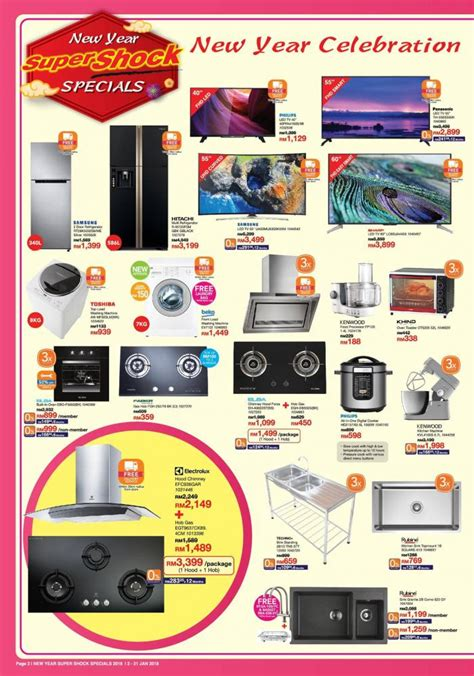 tesco malaysia new year promotion homepro malaysia new year shock specials promotion
