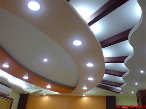 Stylish Ceilings by Stylish Ceiling Design With Lighting Gharexpert