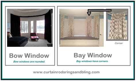 bay window vs bow window difference between bay or bow windows bendable rods