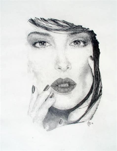 monica bellucci johnny depp 19 best portraits images by jaymi crook art on pinterest