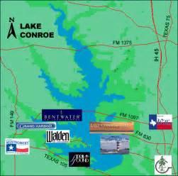 lake conroe map lake conroe lake conroe relocation montgomery