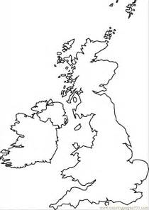 Britain Counties Outline Map by Free Outline Map Of Coloring Pages