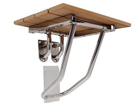 wall bench seat bracket tms 174 new folding bath shower bench seat stainless steel
