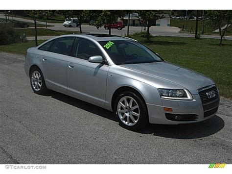 Audi A6 3 2 by 2005 Light Silver Metallic Audi A6 3 2 Quattro Sedan