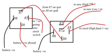 2 best images of 87a relay wiring diagram motorcycle