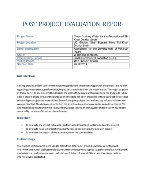 post project report template post project report template 28 images post project evaluation template ppt project post