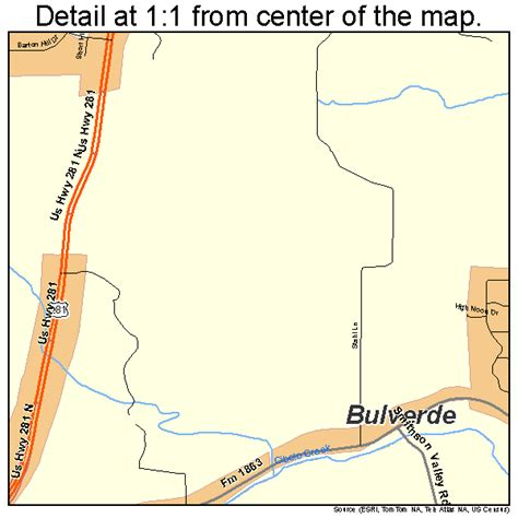 map of bulverde texas bulverde texas map 4811224