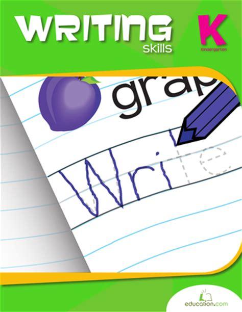 working for it books kindergarten writing skills workbook education