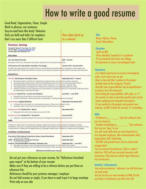 how to write a proper resume made in korea 1988 how to write a resume