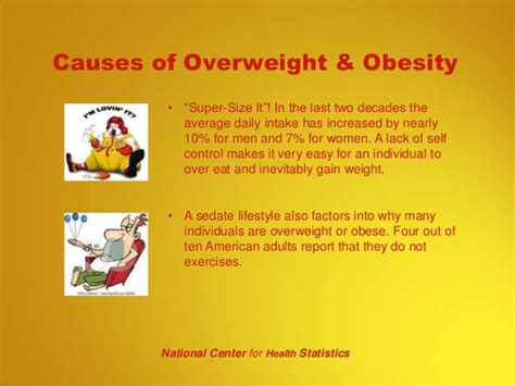 10 Causes Of Obesity by Edu 1103 Wk 09 Powerpoint Presentation For