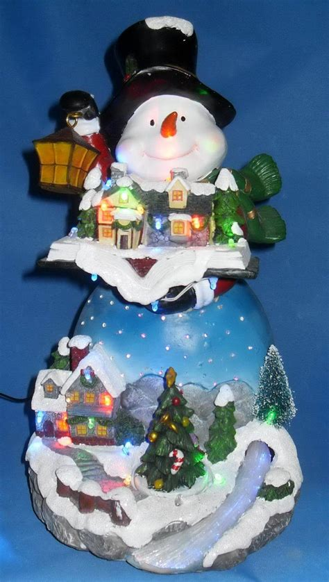 snowman 181 13204 china snowman fiber optic snowman