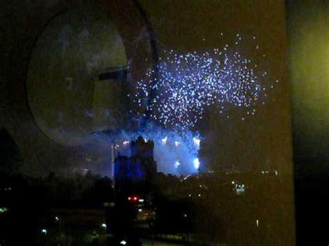 fireworks from swan hotel walt disney world youtube