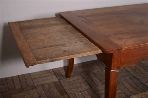 fantastic antique cherry wood dining table at
