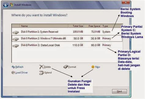 Hardisk Laptop Yang Bagus berbagi ilmu yang bermanfaat cara menginstal windows 7 dengan gambar lengkap