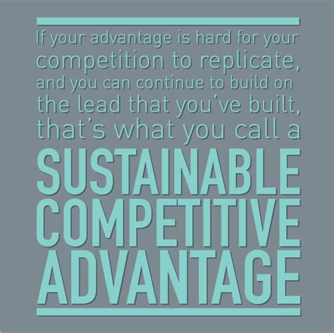 Competitive Advantage sustainable competitive advantages in digital marketing