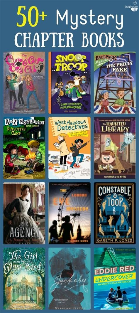 mystery picture book list of mystery chapter books for children s