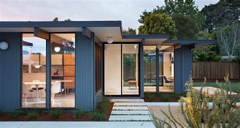 eichler style homes mid century modern architecture homes design mid century home